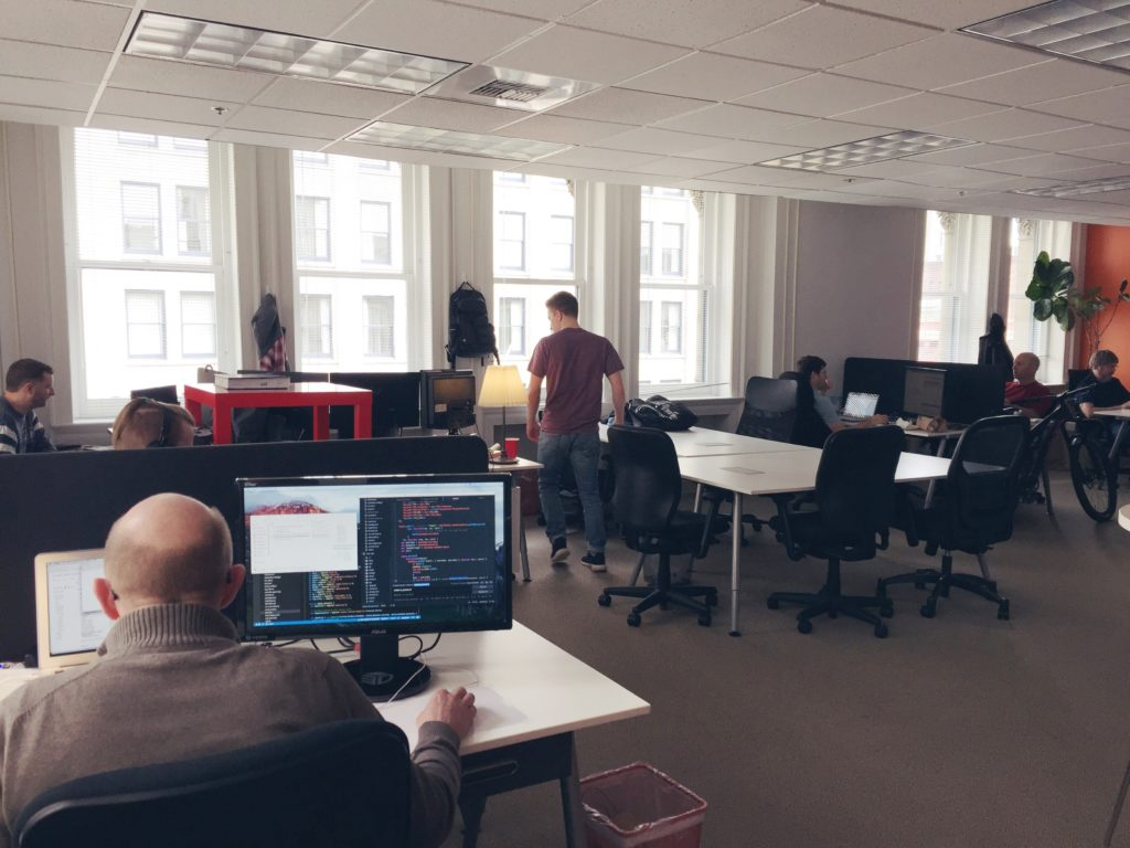 A look inside the SWITCH offices
